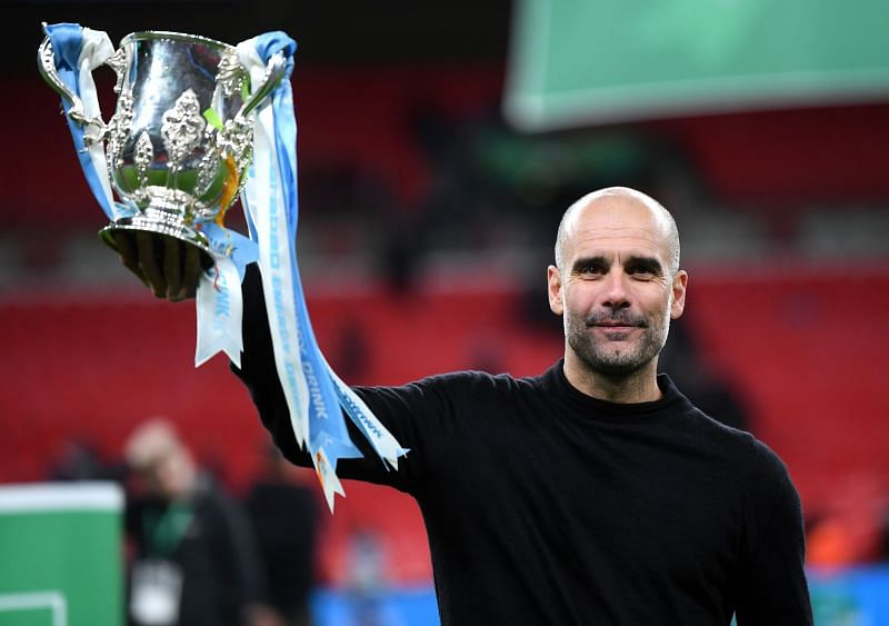Pep Guardiola has been ruthless in domestic competitions