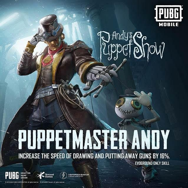 Puppetmaster Andy