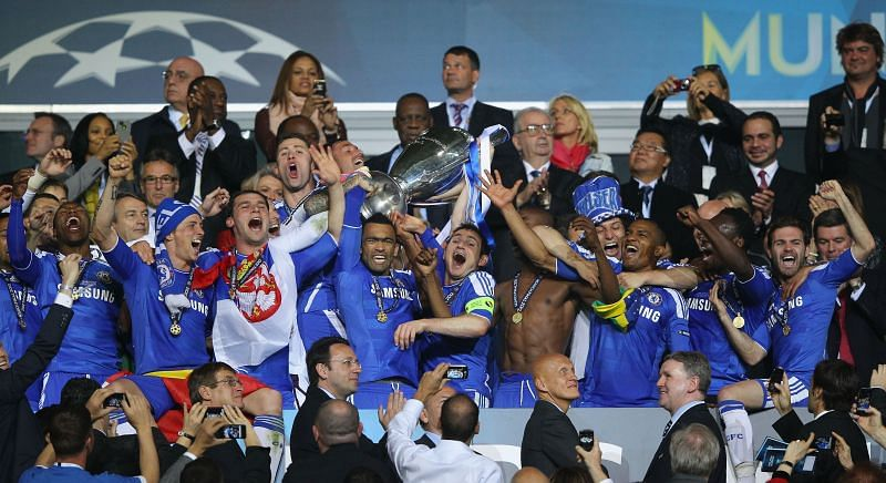 Frank Lampard played a crucial role in Chelsea's 2011-12 Champions League campaign. It is, therefore, befitting that he lifted the trophy alongside club captain John Terry.