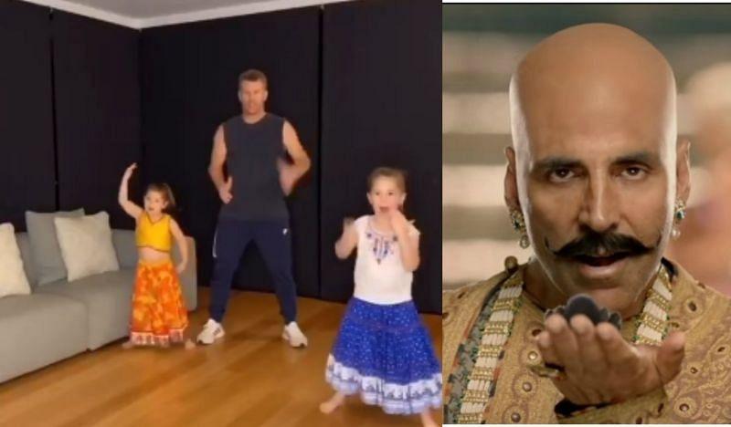 डेविड वॉर्नर ने अपनी बेटियों के साथ किया बाला गाने पर डांस
