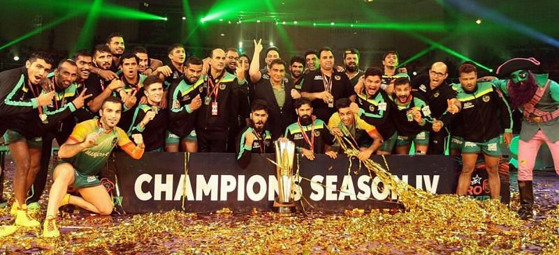 Patna Pirates became the first team to successfully defend their PKL title.