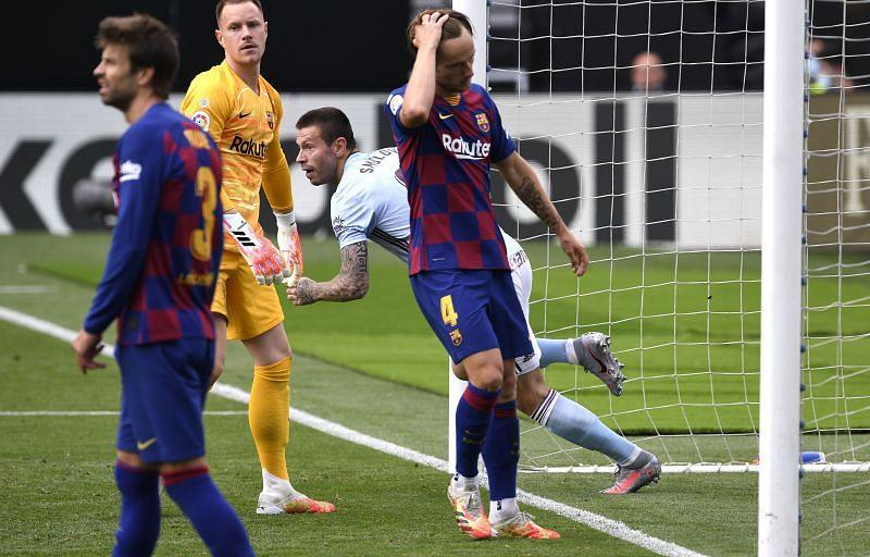 Barcelona failed to defeat an inspired Celta Vigo side