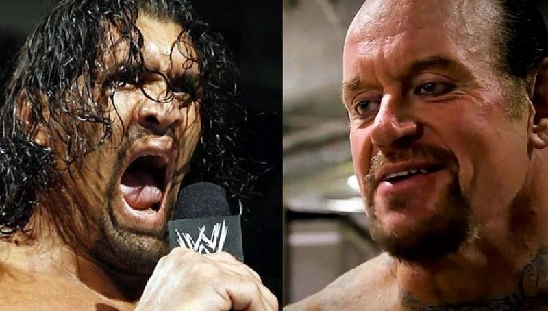 The Great Khali and The Undertaker