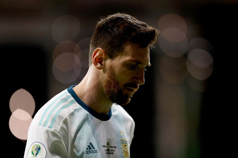 Lionel Messi cuts a morose figure every time he dons the Argentina shirt and captain