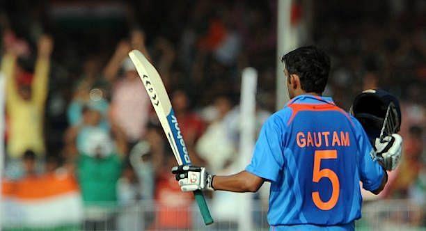 गौतम गंभीर ने अपने वनडे करियर में ज्यादातर शतक श्रीलंका के खिलाफ लगाए हैं