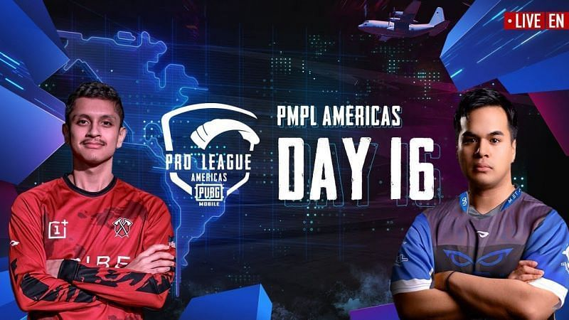PMPL Season 1 Day 16 standings and results (Picture courtesy: PUBG Mobile eSports/YT)