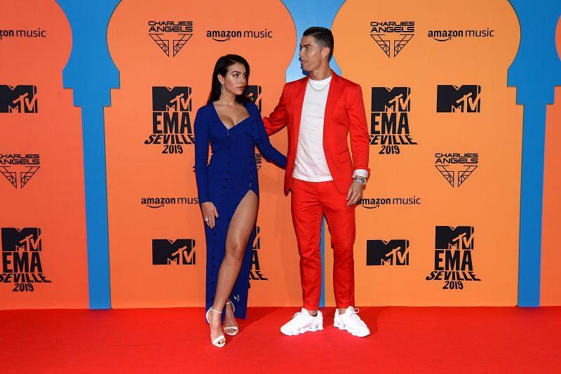 Cristiano Ronaldo often attends award ceremonies with Georgina Rodriguez