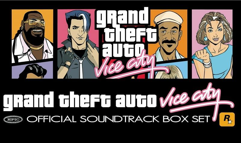 The GTA Vice City Soundtrack is top notch from start to end