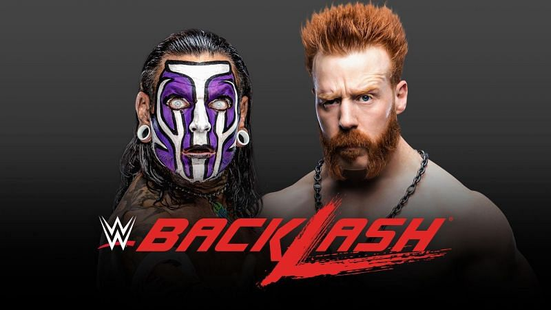 Jeff Hardy and Sheamus are set to go one-on-one at Backlash