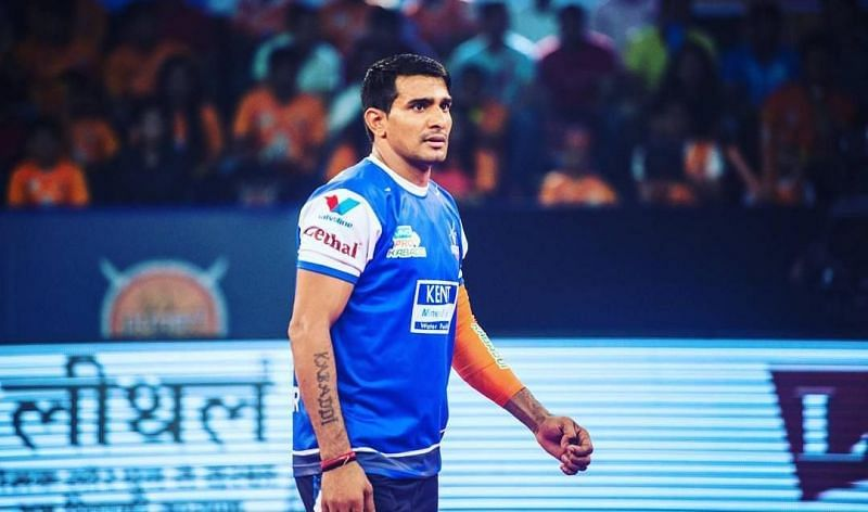 Surender Nada is considered one of the best left corners in the PKL.