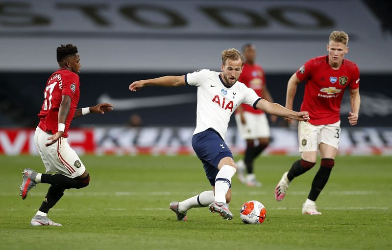 Kane did not enjoy the best of outings against Manchester United on his return from injury