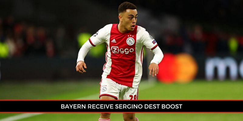 Bayern Munich are leading the race to secure Sergino Dest