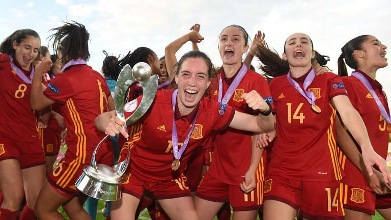 Spain are the defending Champions of the U-17 Women