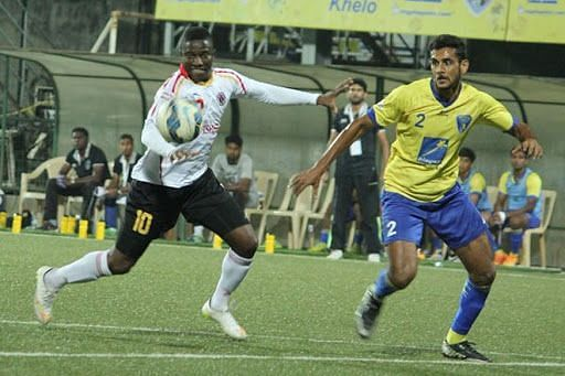 Pratik Chaudhari at Mumbai FC.