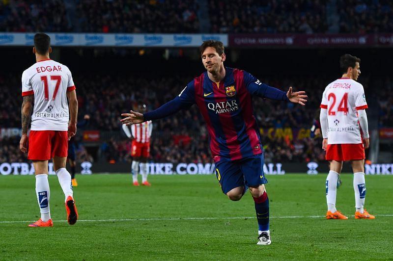 A Lionel Messi hat-trick for Guardiola