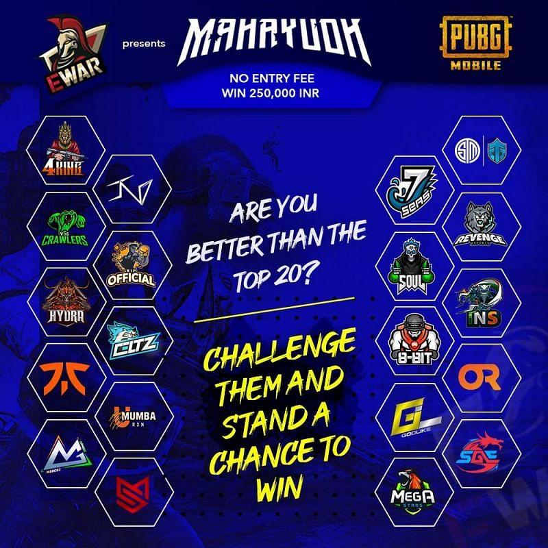 EWar PUBG Mobile Mahayudh Season 1 poster