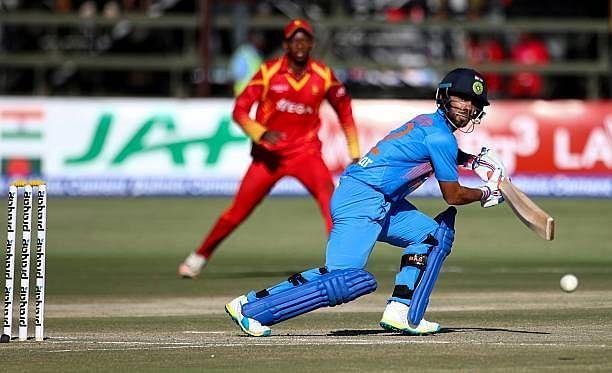 मंदीप सिंह ने 2016 में जिम्बाब्वे के खिलाफ अपने अंतर्राष्ट्रीय करियर की शुरुआत की थी