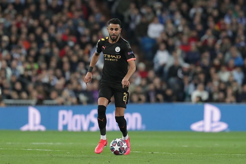 Riyad Mahrez is another Premier League star who would be out of domestic action for a month early next year.