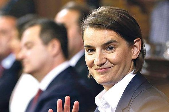 Ana Brnabic, the current Prime Minister of Serbia