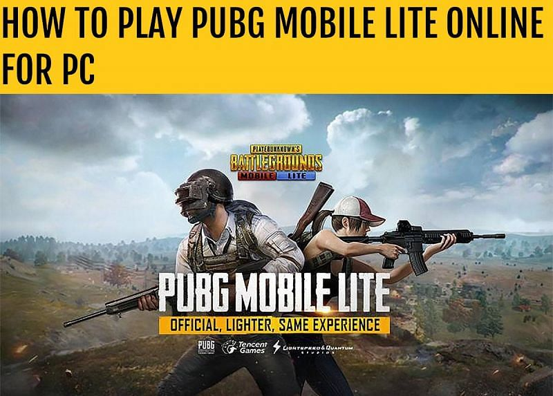 Pubg Mobile Lite Online How To Play The Game On Pc
