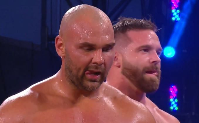FTR won their debut match in All Elite Wrestling