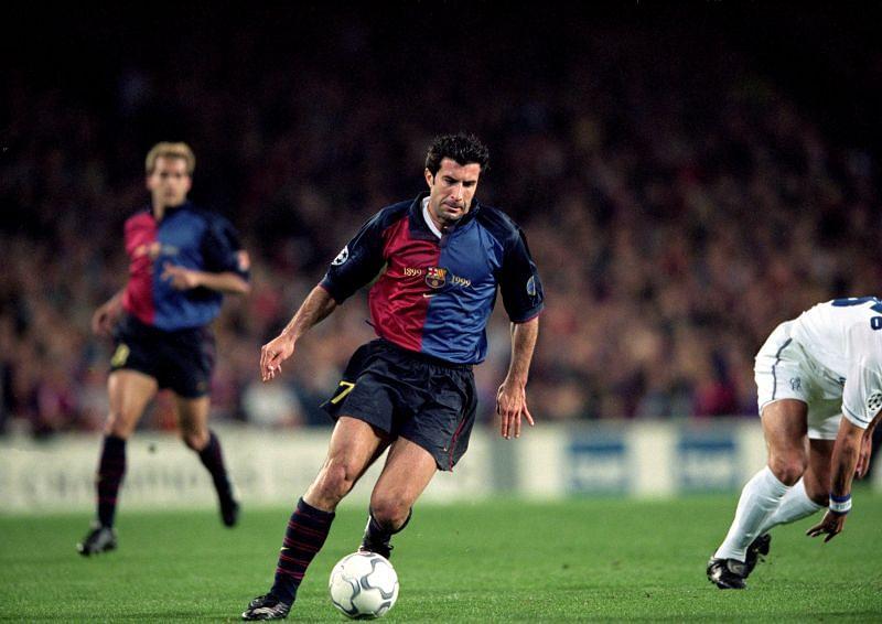 Luis Figo was one of Barcelona