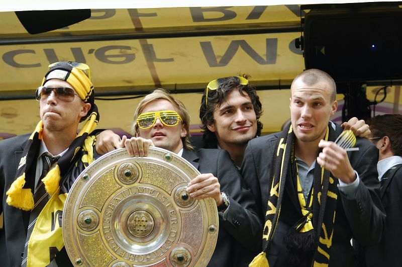 Borussia Dortmund were the last side to win the Bundesliga title before Bayern Munich
