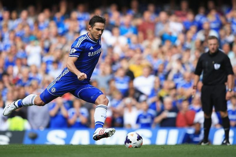 Frank Lampard as a Chelsea player