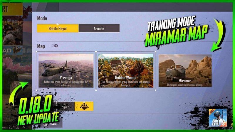PUBG Mobile Lite 0.18.0 update leaks: Miramar Map, Training mode ...