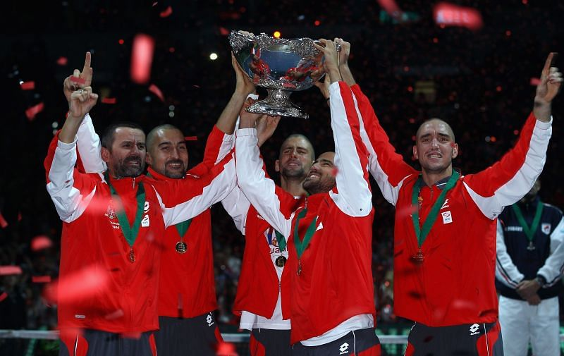 Janko Tipsarevic had won the Davis Cup with Novak Djokovic and other Serbian players in 2010