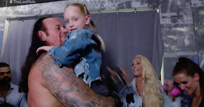 The Undertaker's wife Michelle McCool shares the conflicting views her  daughter has about her parents wrestling