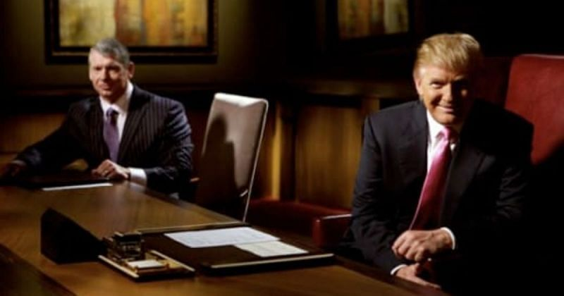Vince McMahon and Donald Trump.