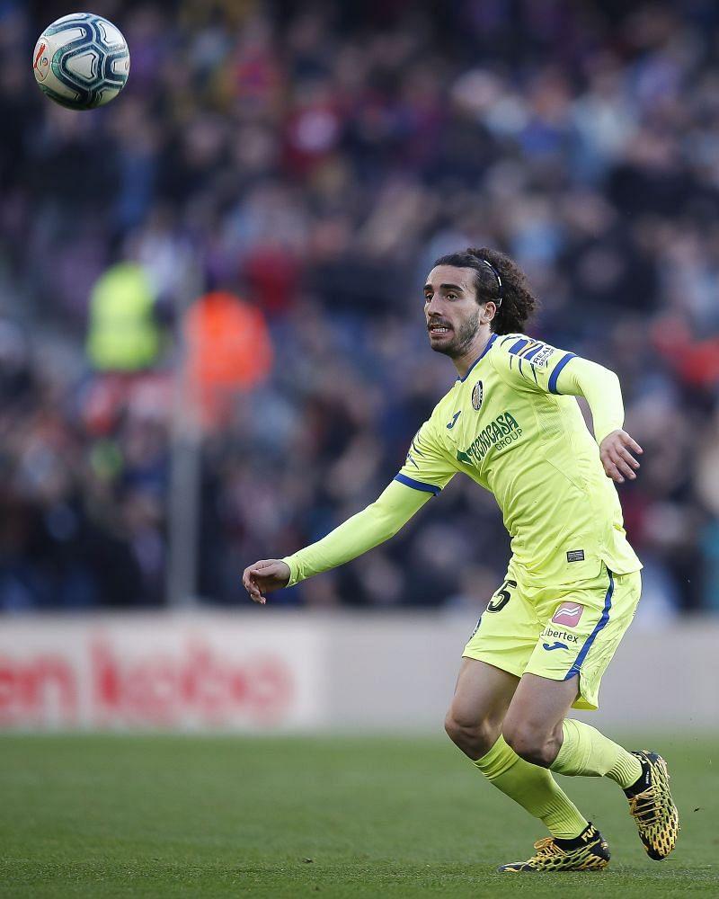 Getafe's left-winger, Marc Cucurella has been a revelation