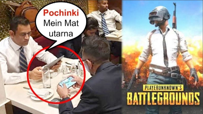 MS Dhoni playing PUBG Mobile (Credit: Bollywood Exclusive)