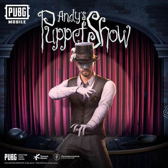 PUBG Mobile - Andy character