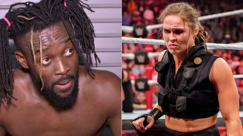 Kofi Kingston and Ronda Rousey