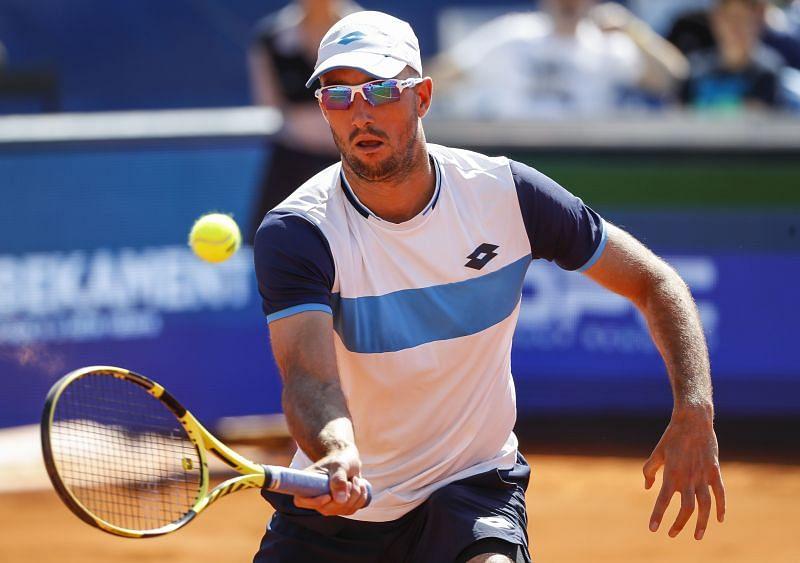 Viktor Troicki played a match against Novak Djokovic in Belgrade