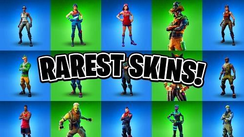 The rarest skins available in Fortnite