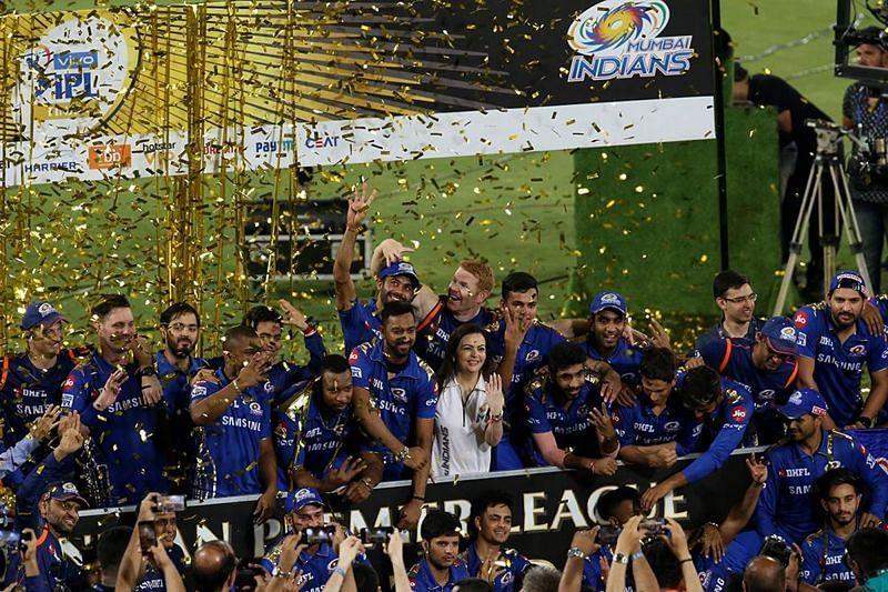 मुंबई इंडियंस सबसे ज्यादा 4 बार आईपीएल का खिताब जीती है