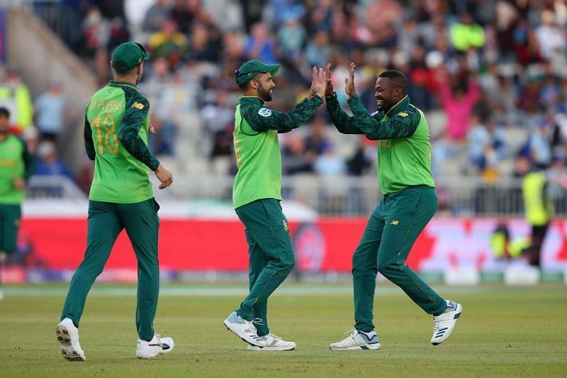 2019 वर्ल्ड कप के दौरान दक्षिण अफ्रीका की टीम