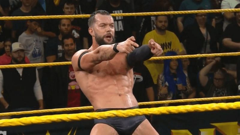 Finn Balor lays out challenge to Keith Lee
