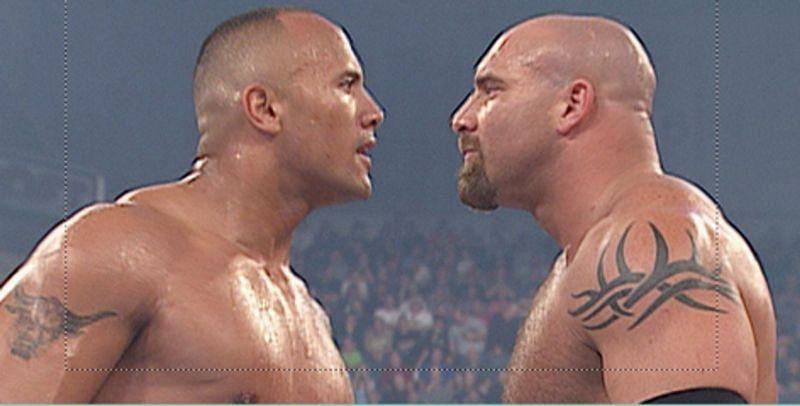द रॉक vs गोल्डबर्ग