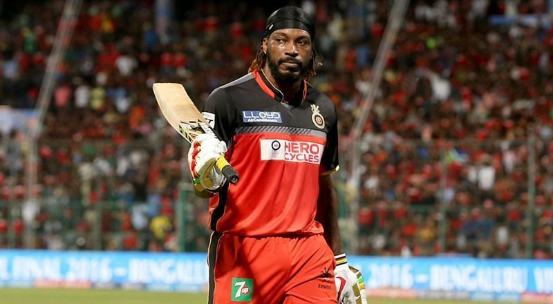 Chris Gayle was again the star performer for RCB against KXIP in IPL 2015