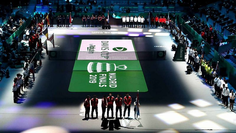 Davis Cup Final 2019 in Madrid, the premier edition of the revised format of the competition.