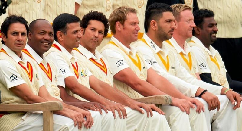 Aaron Finch got an opportunity to play with Sachin Tendulkar and Brian Lara at Lord