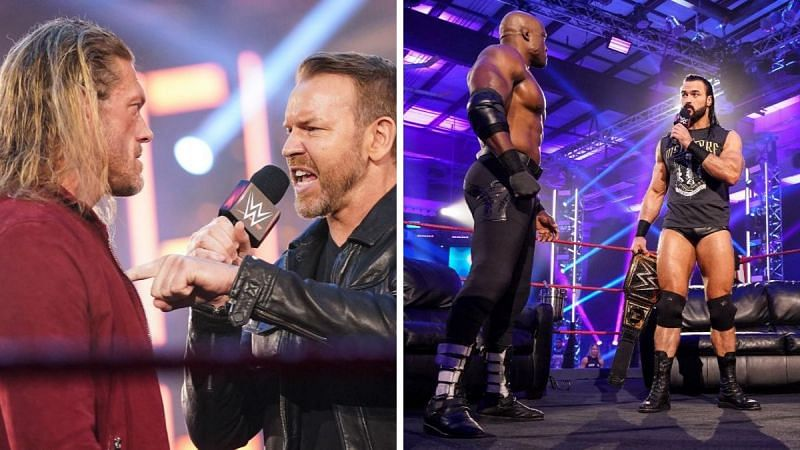 Edge reunited with Christian; Drew McIntyre confronts Bobby Lashley on the VIP lounge