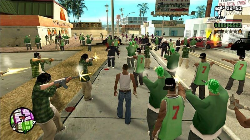 Full list of GTA San Andreas Gangs to look out for