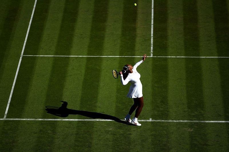 Serena Williams has one of the fastest serves in women