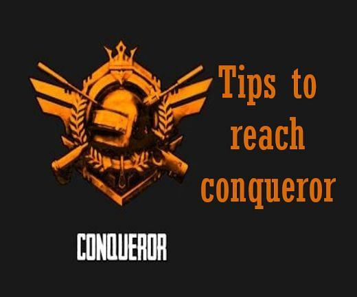 How to reach Conqueror quickly in PUBG Mobile