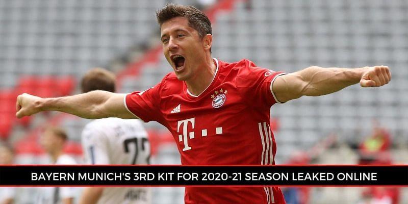 Bayern Munich's vintage 2020/21 Adidas third kit leaked online